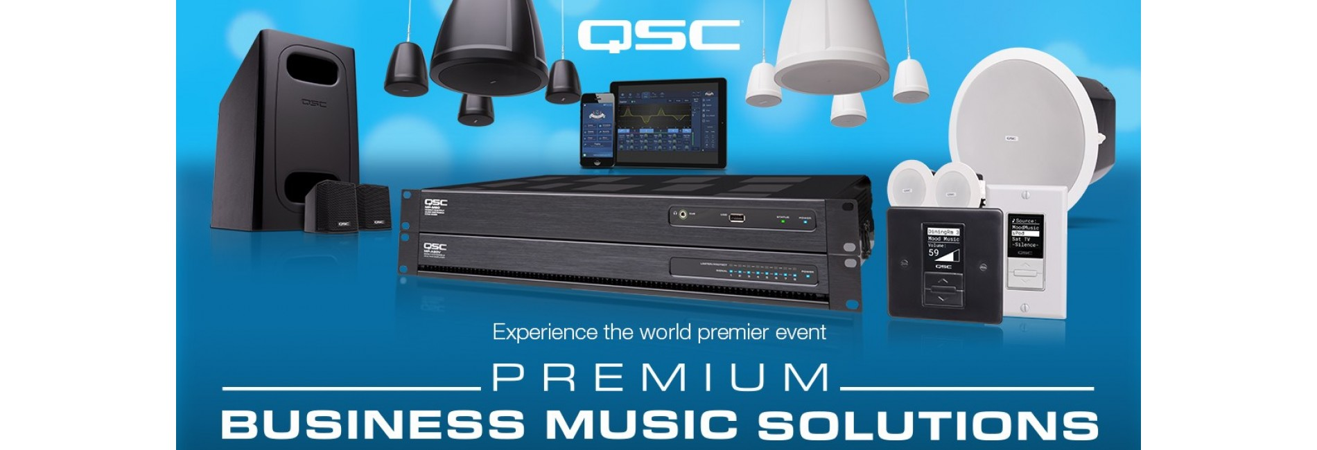 QSC Premium Business Music Solutions